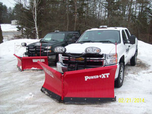 snow removal waterville maine